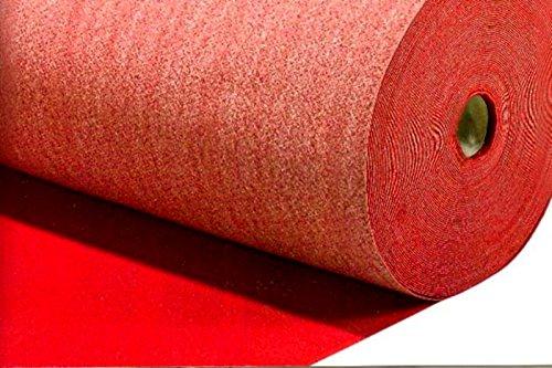AGRIPRO PASSATOIA Rossa Natalizia Tappeto Rosso MT 1 X 50 Natale Chiesa Matrimonio Negozio