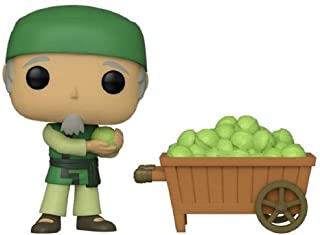 Funko Pop! Avatar The Last Airbender Cabbage Man on Cart Shared Sticker NYCC 2019 Exclusive