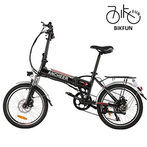 BIKFUN Vélo électrique de Montagne Pliable, 20 pneus Ebike 2