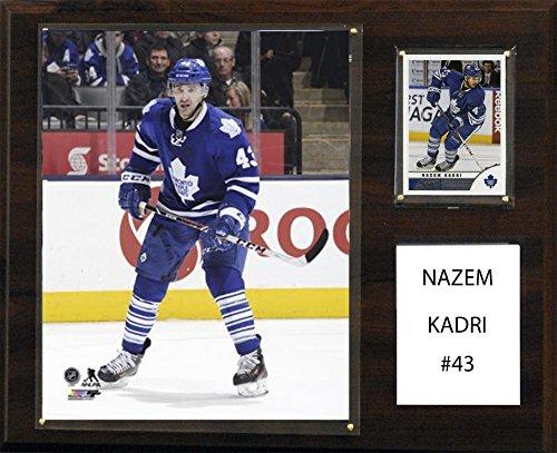 """NHL 12""""x15"""" Nazem Kadri Toronto Maple Leafs Player Plaque"""