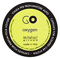 Millefiori カーエアフレッシュナー GO レフィル オキシゲン 1pcs RGOX
