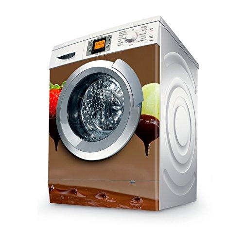 setecientosgramos Vinilo Lavadora | Stickers Washing Machine| Pegatina Lavadora | Fruit & Choco