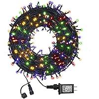 Funiao IP65 Waterproof 105ft 300 LED Indoor Outdoor String Lights
