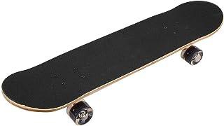 Tabla de skate, soporte de aleación de aluminio de 2 colores Tabla de skate de cuatro ruedas Tabla corta de resistencia al impacto para principiantes, adultos, adolescentes, niños, etc.(naranja)