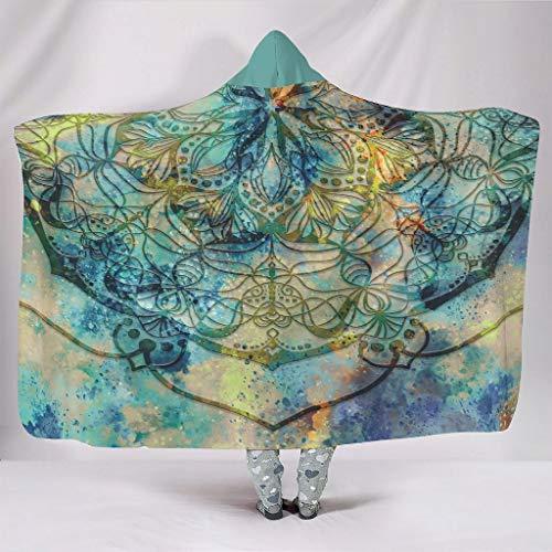 NeiBangM Dreamy Mandala knuffeldeken Super SoftCozy lichtgewicht duurzaam in de woonkamer plafond
