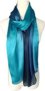 Scarves for Women, Gradient Colors Scarves,Shawls and Wraps for Evening Dresses