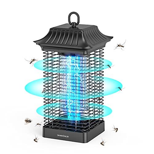 Sahara Sailor Elektrischer Insektenvernichter,4000V Elektrisch Insekten Mückenfalle,18W Fliegenfalle Mückenschutzlampe,Effektive Reichweite 90 m²,Keine Giftigen für Innen und Aussen Gärten