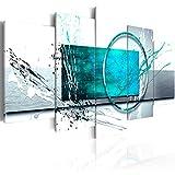 murando Cuadro en Lienzo Abstracto Moderno 200x100 cm Impresión de 5 Piezas Material Tejido no Tejido Impresión Artística Imagen Gráfica Decoracion de Pared Arte a-A-0012-b-p