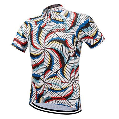 Cycling Jersey Men Bicycle Shirts Summer Short Sleeve Pro Bike Jersey Cycling Tops Jackets S-XXXL
