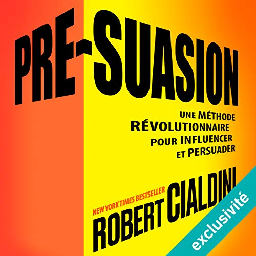 Pré-suasion audiobook cover art