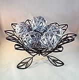 Decorative Spheres (Silver) Rattan Vase Filler Christmas Ornament Decoration Holiday Bowl Filler 8 CM Kamboi Balls By Wreaths For Door