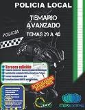 Temario Avanzado Policía Local de Andalucía: Temas 29 a 40