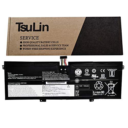 TsuLin L17C4PH1 Laptop Battery Replacement for Lenovo 7 Pro-13IKB C930-13IKB Series Notebook L17M4PH2 L17M4PH1 L17L4PH2 5B10Q82427 7.68V 60Wh 7820mAh