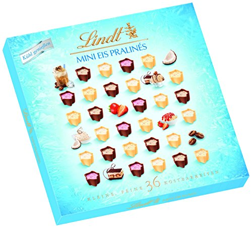 リンツ (Lindt) チョコレート ミニプラリネ アイス 165g ショッピングバッグM付