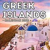 Greek Islands Calendar 2022: 16-Month Calendar, Cute Gift Idea For Greece Lovers Women & Men
