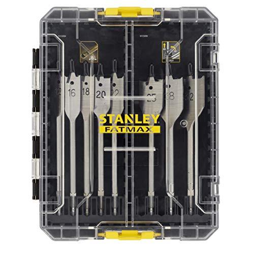 STANLEY STA88556-XJ 8-Piece FATMAX Wood Drill Bit Set