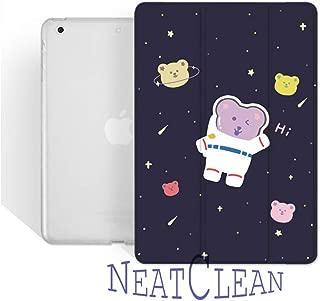 NeatClean ipad 10.2 ケース かわいい ipad 第7世代 ケース 軽量 薄型 耐衝撃 かっこいい 魅力的 アイパッドケース 三つ折り pencil収納 iPad 第六世代 9.7 インチ ケース 2018 iPad 第五世代 9.7 インチ ケース 2017 ipad air10.5 ケース Air3ケース Air2ケース Airケース 手帳型 iPad mini5ケース mini4ケース mini3ケース mini2ケース miniケース アイパッドカバー ipad pro11 ケース ペンシル ipad pro10.5 ケース おしゃれ ipad 9.7 ケース ペンシル収納 おしゃれ 人気 クマ キャラクター かわいい クマ柄 子供向け(iPad 10.2,a柄)