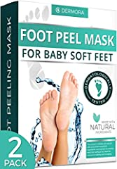 For men & women with a shoe size up to 11. Can be used for dead skin, cracked heels and callouses. Includes Coconut and papaya extracts. Can be used on all types of skin. Made with natural ingredients.