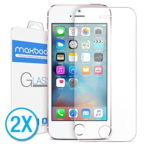 Maxboost Screen Protector for iPhone SE (2016...