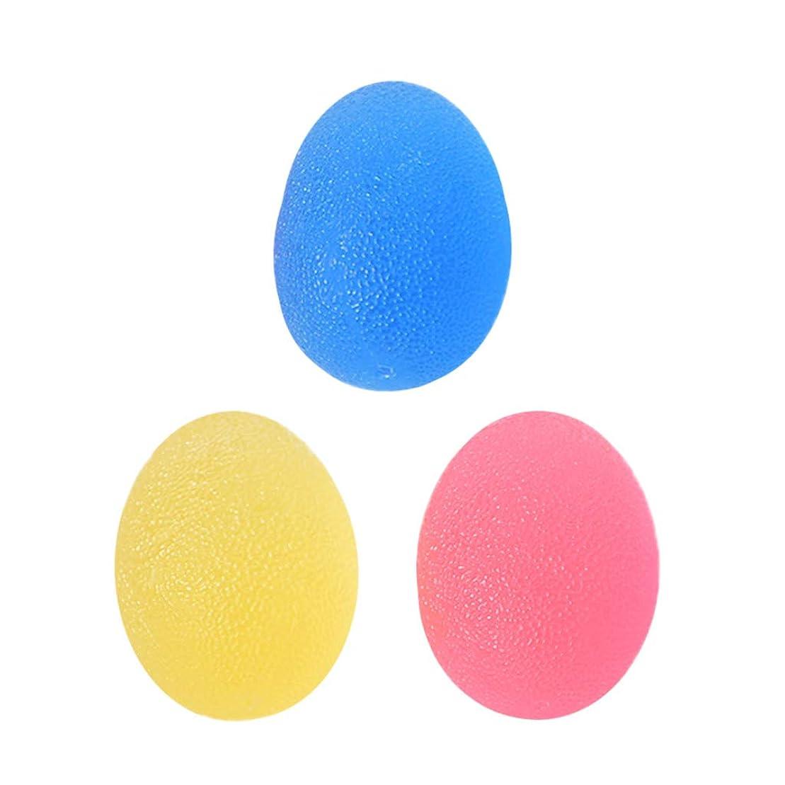魂クリーム再現するFLAMEER 3個 ハンド スクイズボール エクササイザボール 指 手のひら 運動 グリップ