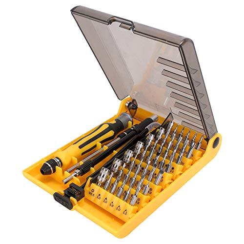 Lukovee 46 en 1 Juego de Destornilladores de Precision, Magnéticos Juego de Herramientas de Reparación…