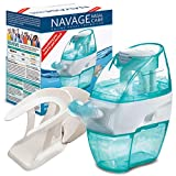Navage Soft-Click Factory-Second Bundle: Brand New, Factory Sealed, functionally Perfect. Incl Nose Cleaner, 18 SaltPods, Countertop Caddy. This is not a Used Unit; See Details Below
