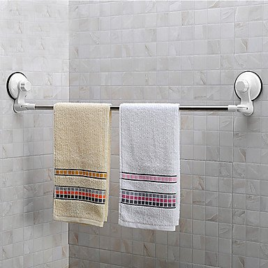 Miaoge® Corner Krachtige Sucker ABS&S/S Handdoekhouder/Handdoekenrek met zuignap