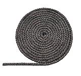 Pyrojoints 403, rond, noir, standard, 8 mm Ø, au mètre
