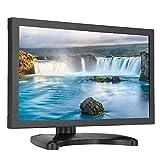 Monitor Industrial Full HD, 11.6 Pulgadas Pantalla táctil panorámica de 16: 9 Pantalla TFT,HDMI VGA USB Interfaces múltiples Pantalla para PC, CCTV, videocámaras, computadoras, etc.(Enchufe de la UE)