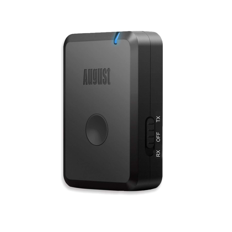 August MR260 Transmisor Receptor Bluetooth 2 en 1 – Receptor y Transmisor de Audio Estéreo Bluetooth: Amazon.es: Electrónica