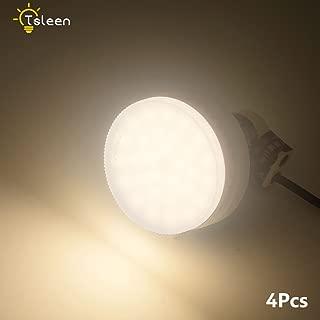 4Pcs GX53 LED Bulb 9W Bright Lamp 85-265V Warm White for Living Room Bedroom