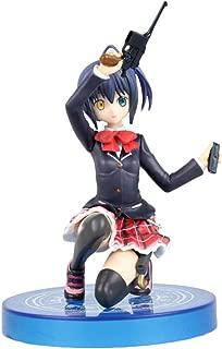 Elibeauty Anime Takanashi Rikka Chuunibyou Demo Koi Ga Shitai 1/8 Scale PVC Figure, Vinyl Action Figure Collectible Cosplay Model Home Car Decoration Gift for Anime Fans
