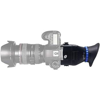 Visor ocular de aumento de 3x cámara con visor para Canon Nikon ...