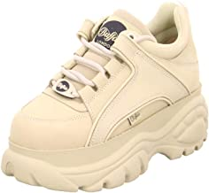 Buffalo London 1339-14 Womens Cream Trainers