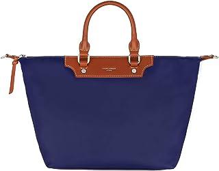 David Jones - Damen Tote Shopper Nylon wasserdichte Handtasche - Tragetasche Schultertasche - Shopping Bag Große Kapazität...