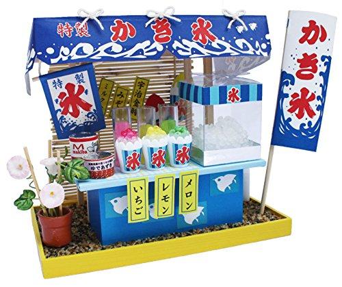 Billy handmade Dollhouse Kit fair stand kit shaved ice 8423 (japan import)