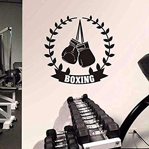 Wall Art boxershorts Kick Boxer Gioca stickers voor auto, vecht, vinyl, wanddecoratie, 58 x 58 cm