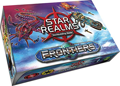 White Wizard Games WWG021 Star Realms: Frontiers, Multicolor álbum de Foto y Protector