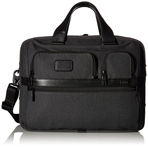 Tumi Messenger Bag planificada, 742315L, Color Gris