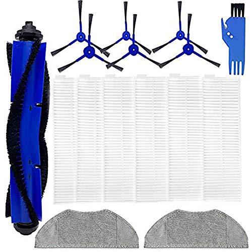 Pineapplen Piezas de Repuesto para RoboVac L70 Hybrid Robotic Aspirador Kit de Accesorios, Filtros, Cepillos, Almohadillas para Trapear