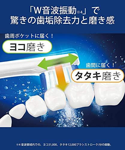 パナソニック電動歯ブラシドルツ青EW-DP53-A