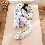 JZLMF Almohada Multifuncional para Mujer Embarazada, protección de la Cintura,...