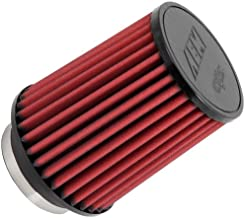 AEM 21-2058DK Universal DryFlow Clamp-On Air Filter: Round Straight; 4 in (102 mm) Flange ID; 7 in (178 mm) Height; 6 in (152 mm) Base; 6 in (152 mm) Top