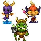 Funko Games: Pop! Spyro Collectors Set - Spyro, Ripto, Gnasty Gnorc