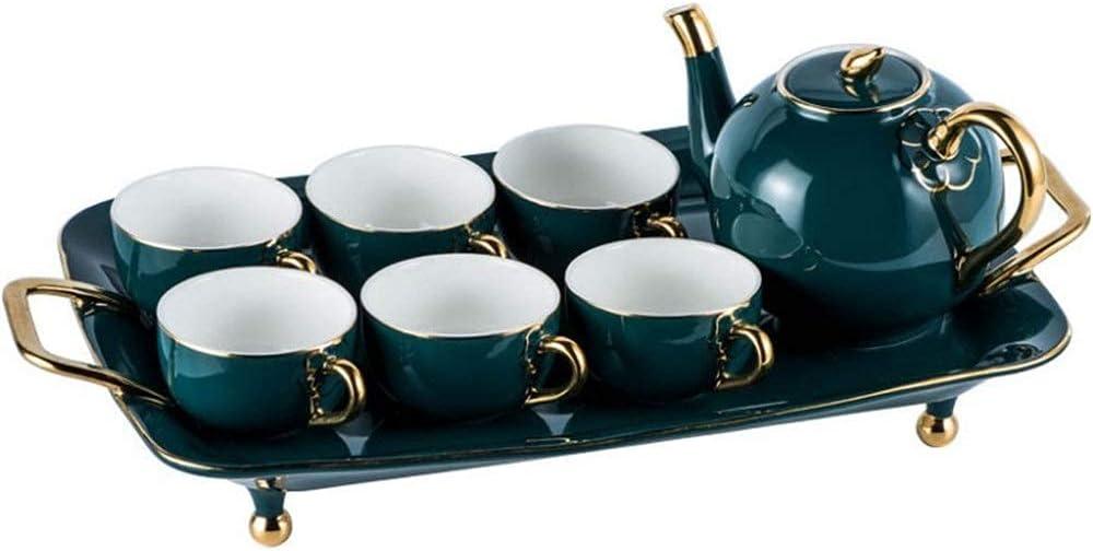 outlet TEAYASON Porcelain Teacup Set Home Spring new work wit Sets Tea Series