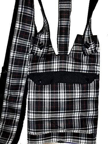 Katheter Nachtsackhalter mit Tasche, Schlauchabdeckung (1 Meter lang) und verstellbarem Griff, Abdeckung für eine Katheter-Nachttasche, ideal für Rollstuhlfahrer