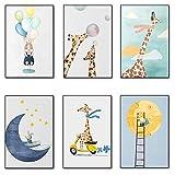 lulupila Bilder Poster Kinderzimmer Deko Kinderposter
