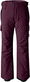 Wantdo Women's Waterproof Padding Insulated Cargo Snow Pants