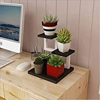 クリエイティブシンプルな花瓶展ガーデンベッドルームミニ植物フレーム鉄多層ウッドフラワーミニトランペット2Kg(4.4Lbs)3028Cmホームアクセサリーナチュラル
