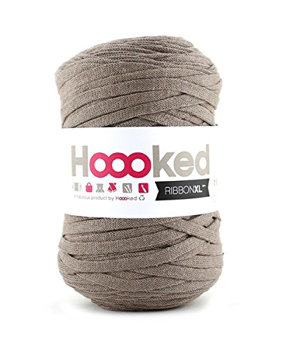 Hoooked RibbonXL, Earth, Taupe, 120 m